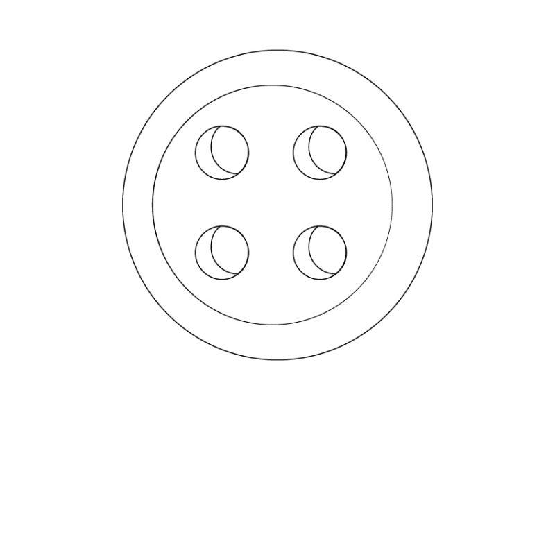 camicia-su-misura-bottone-bianco