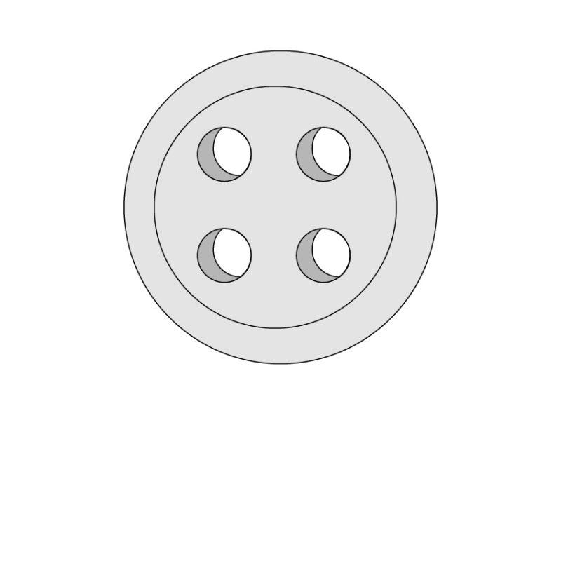 camicia-su-misura-bottone-grigio-chiaro