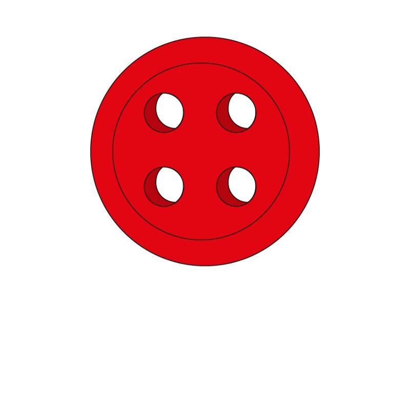 camicia-su-misura-bottone-rosso