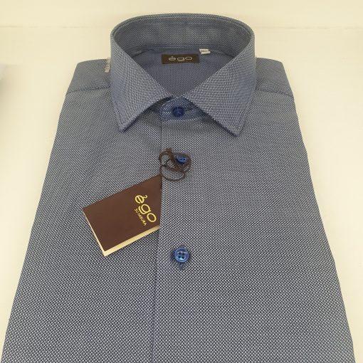 Camicia in microfantasia Henry 56